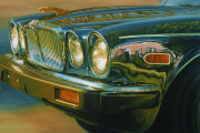 Jaguar Car Art Print|Uptown Jag