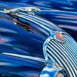 Jaguar Car Art Print|Jaguar Blues