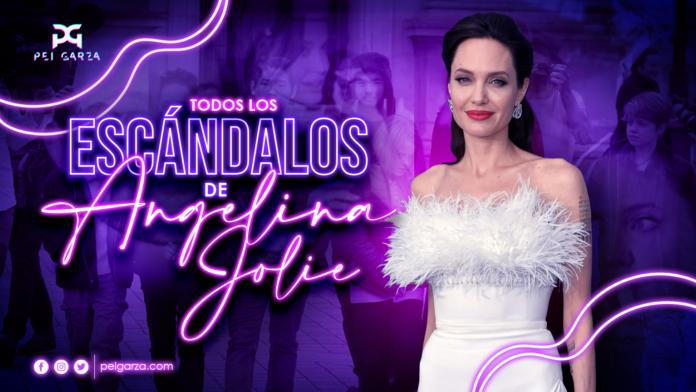 La escandalosa vida de Angelina Jolie