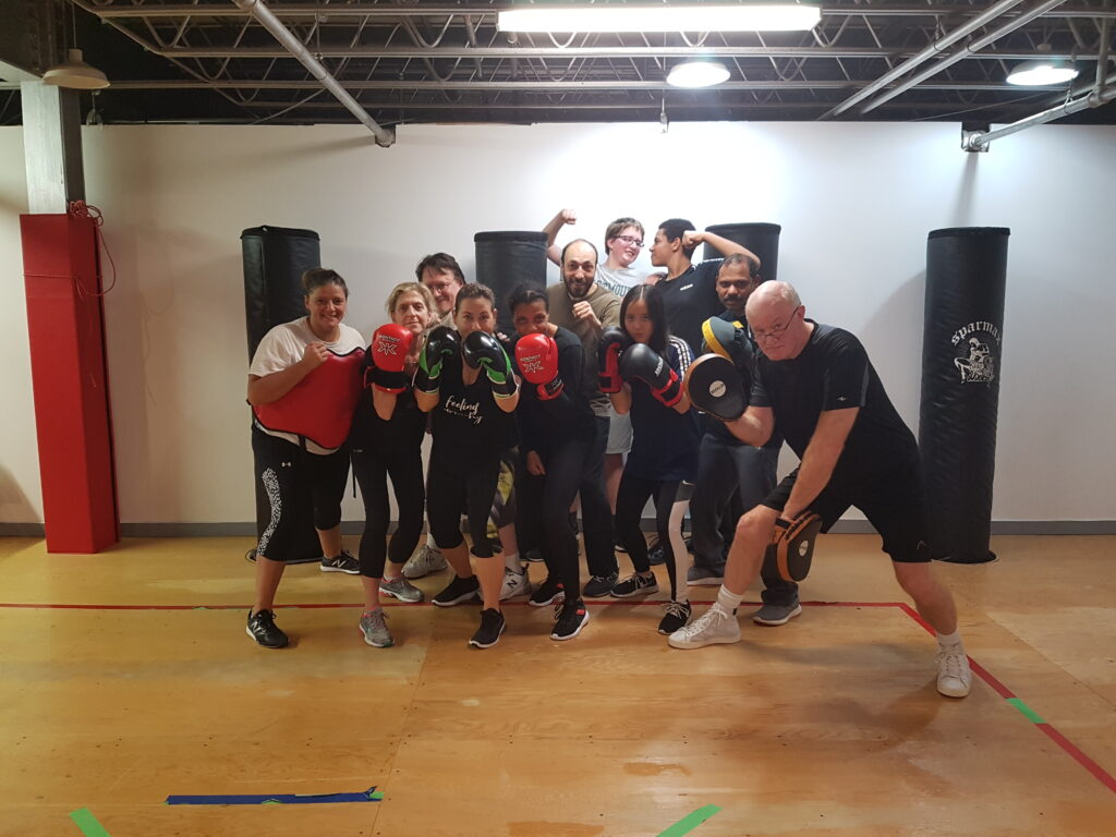 Fitness programs for adult - Fit and Fight in Montreal West