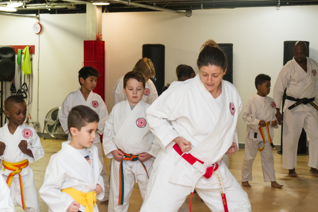 Karate classes for 6-10 year olds