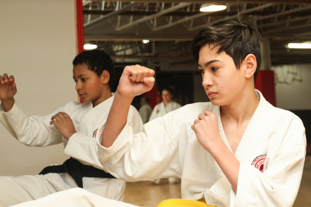 Karate Classes for 11 years and up