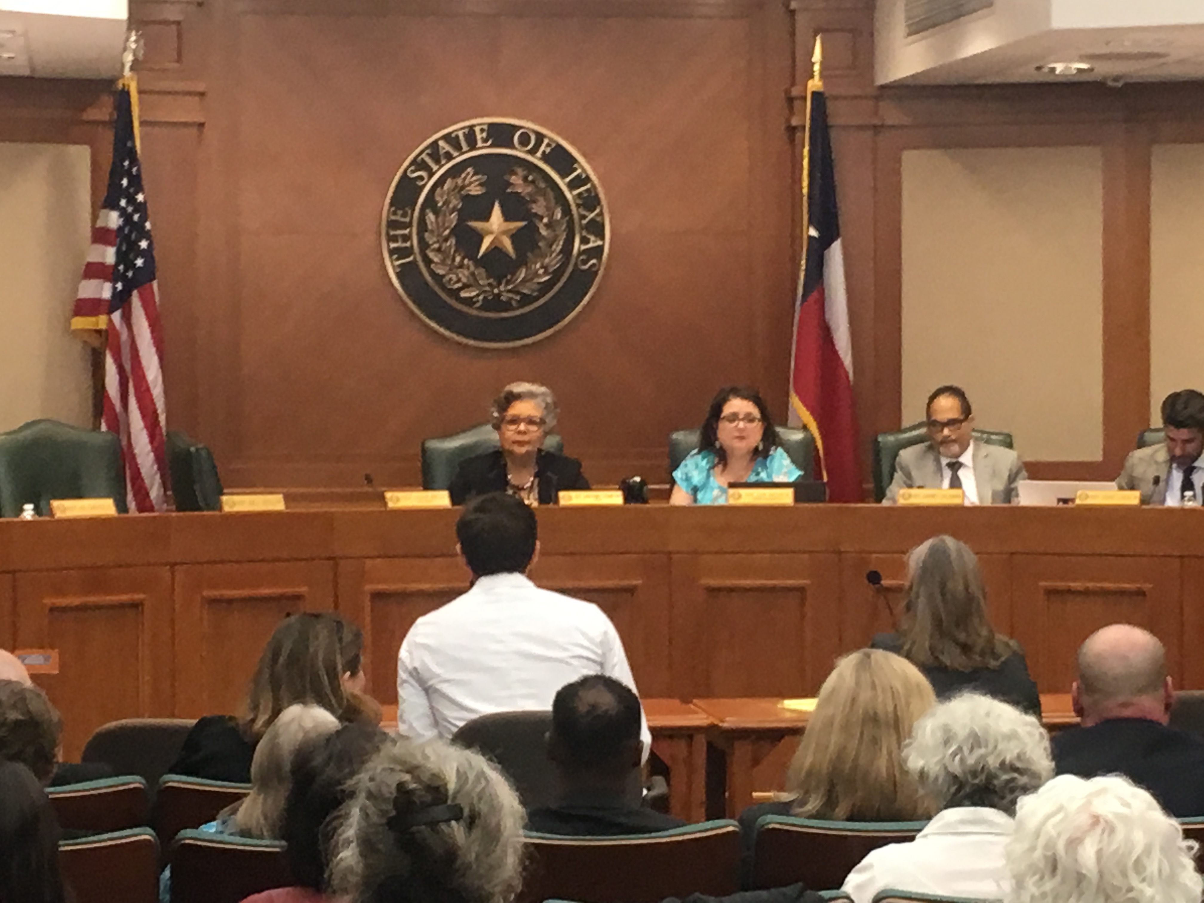 Carl Nunziato, MD testifying on opioids before the Texas House Public Health Committee