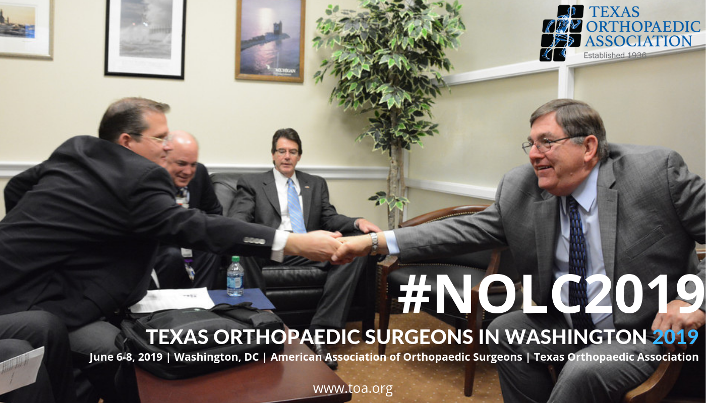 Orthopaedic Residents Advocate on Capitol Hill