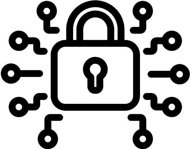 Multi-layered security icon