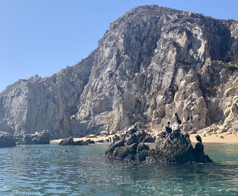 Cabo Pelican Rock