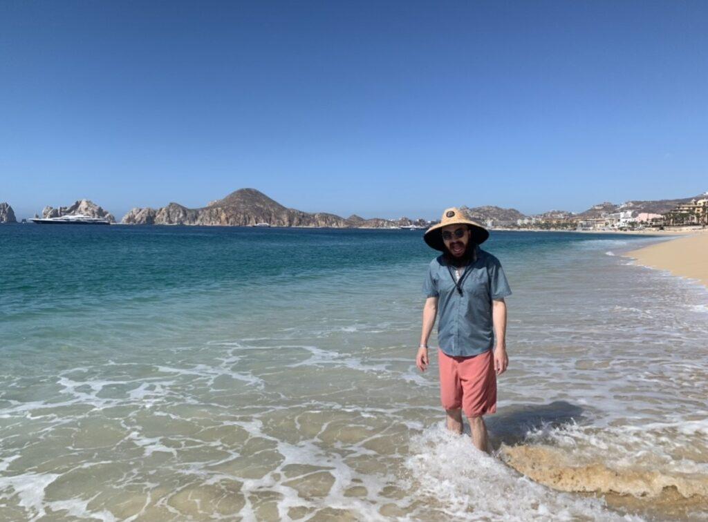 Dylan in Cabo San Lucas