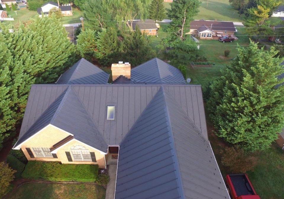 Standing seam roof in Williamsport, MD