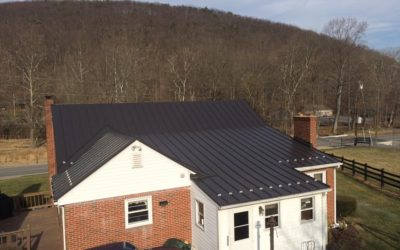 Standing seam roof in Clear Spring, MD