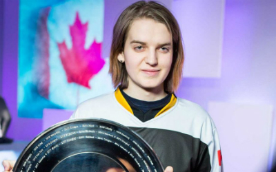Canadian Starcraft pro makes history in Pyeongchang