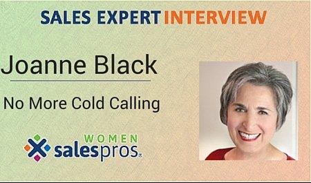 iWOMEN sales pros joanne black interview