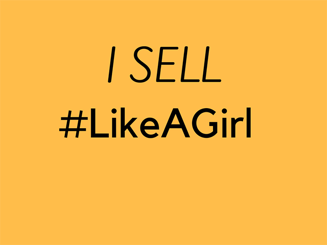 Sell #LikeAGirl