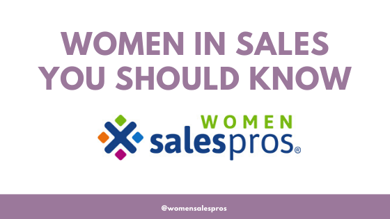 Women in Sales You Should Know