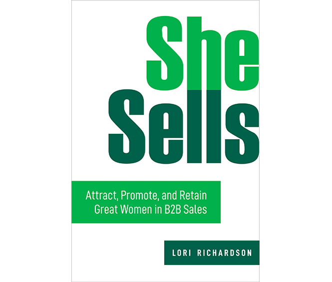 New Book She Sells – Grow the Number of Women in Sales and Sales Leadership