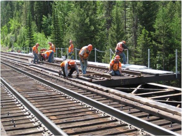 Bridge Hardware install - Montana