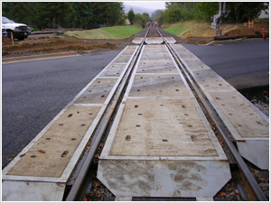 Crossing End Deflector Plates