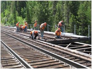 Railroad Bridge Components