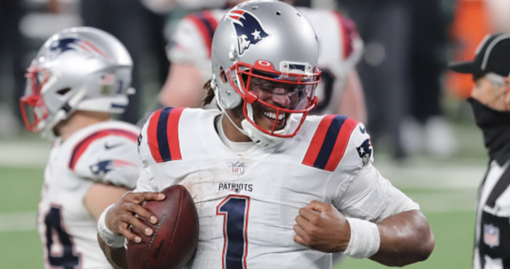 Cam Newton is the reason the New England Patriots avoided disaster: