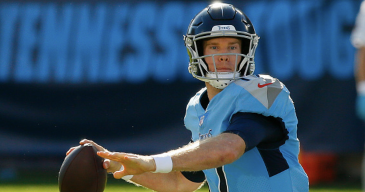 This is a new and improved Ryan Tannehill in Tennessee: