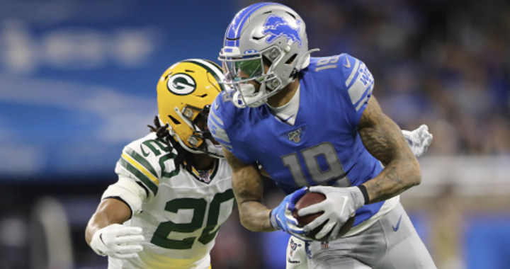 Kenny Golladay appears to be ready to leave the Lions: