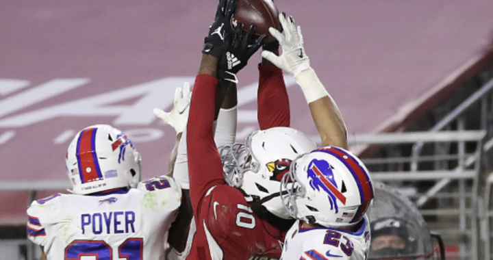DeAndre Hopkins had the best catch we'll see all year:
