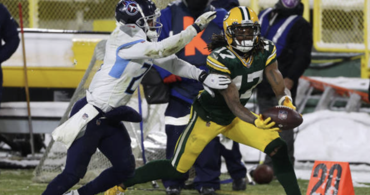 Davante Adams is the best receiver that Aaron Rodgers ever had: