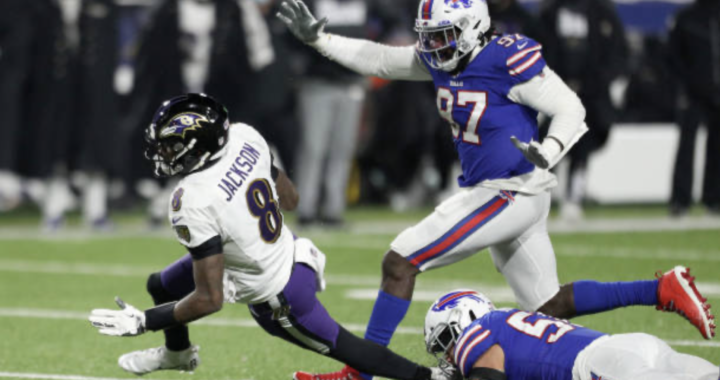 The Bills defense made Lamar Jackson look vulnerable: