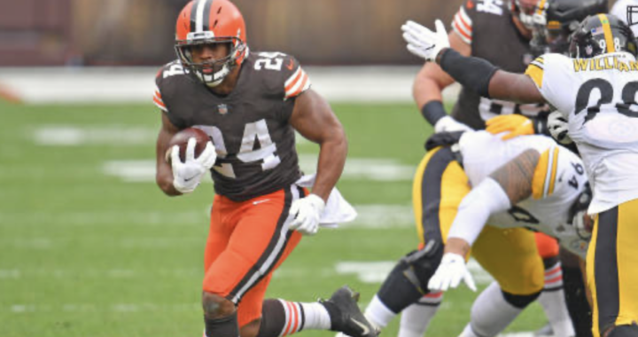 Did the Browns get Nick Chubb for a bargain price?
