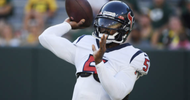 Did the Texans make the right choice by going with Tyrod Taylor?