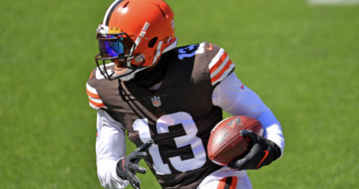 How much better are the Browns with their big play guy Odell Beckham Jr.?