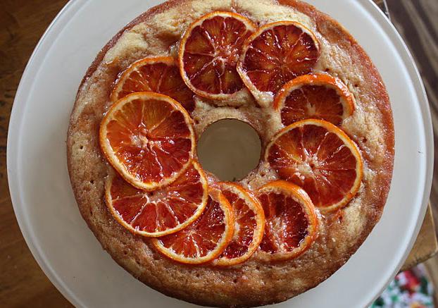 Sugared Orange Tea Cake