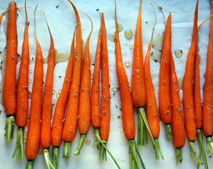 The Start to 2012 and Honey Roasted Carrots