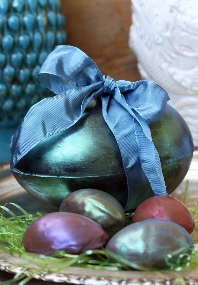 Chocolate Easter Eggs with a Surprise