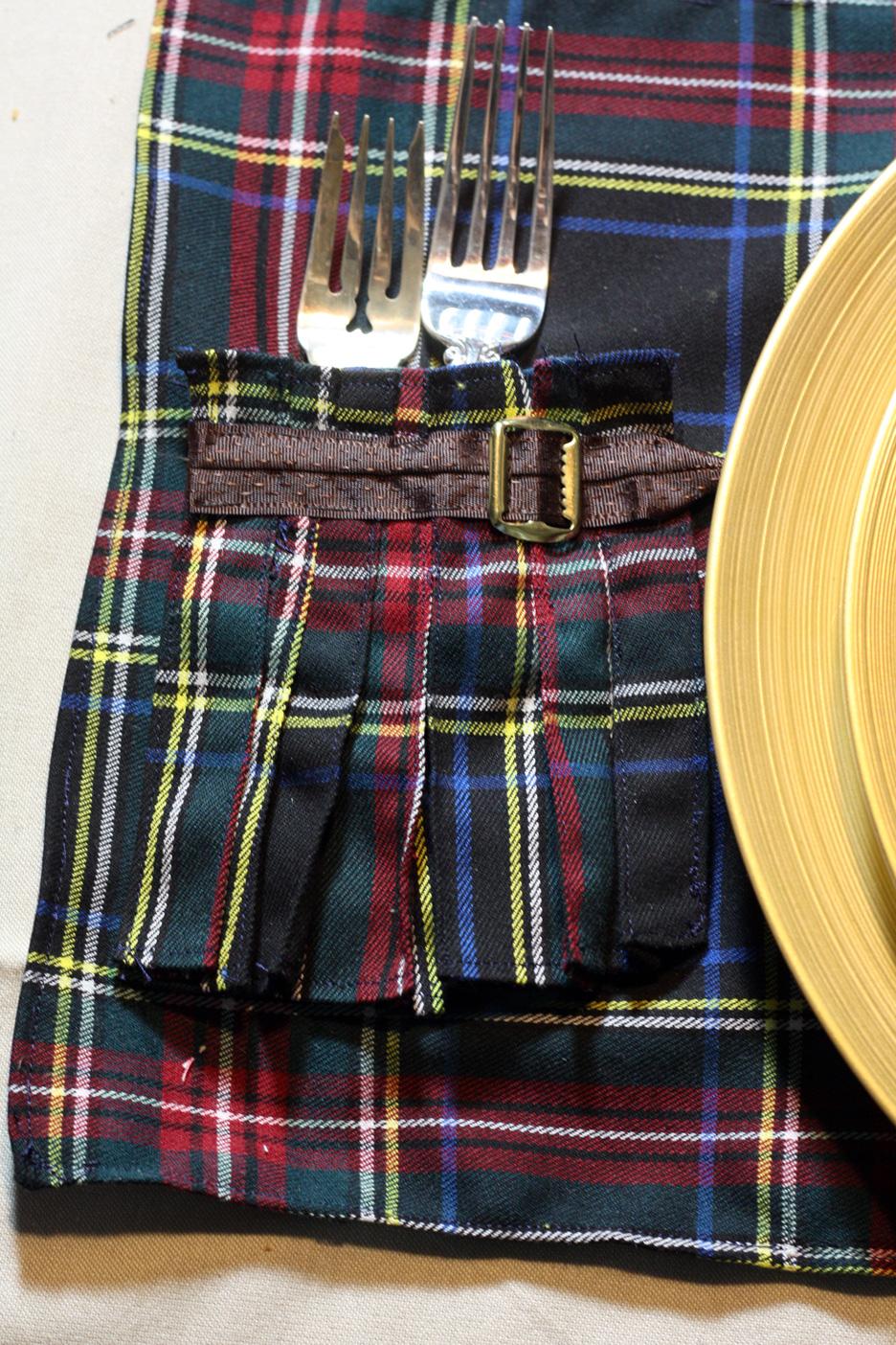 Scottish Kilt Placemats