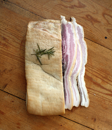 Home Cured Maple Bacon