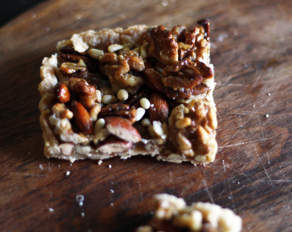 Simple Nut Tart