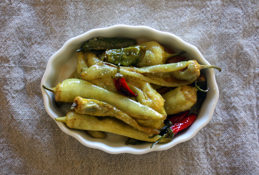 Roasted Banana Peppers
