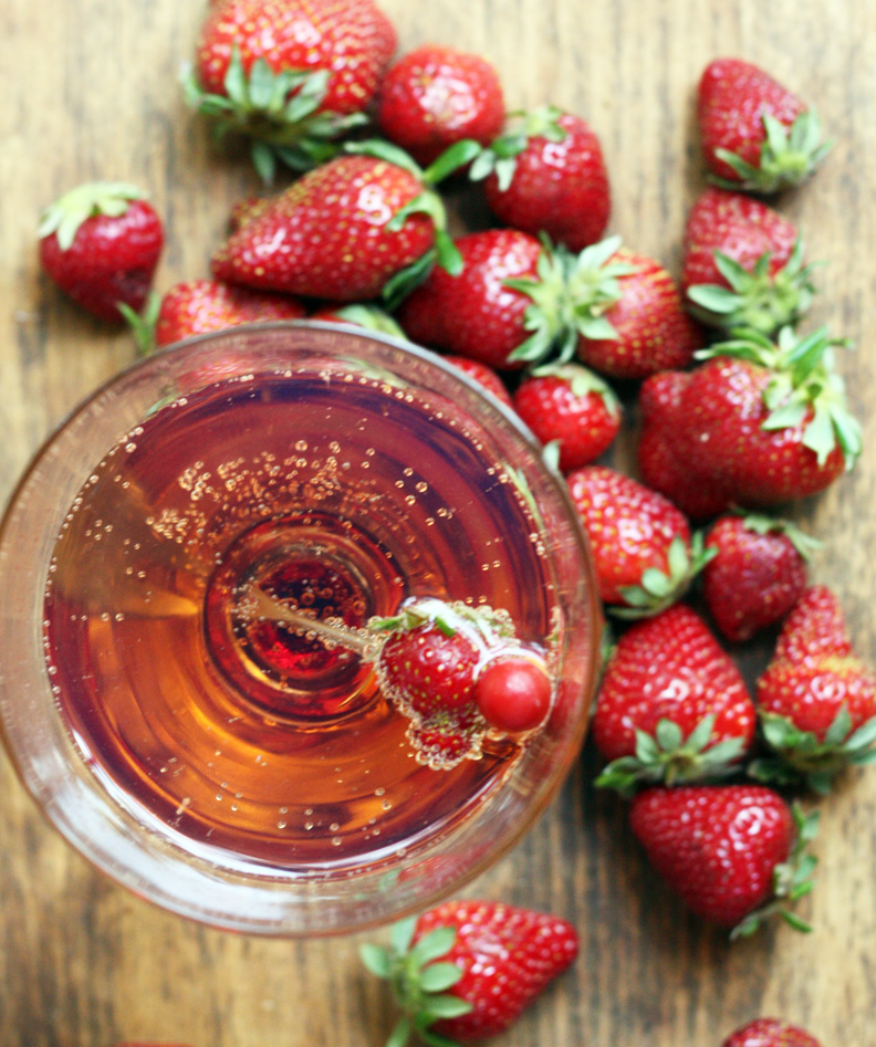 Strawberry Balsamic Shrub