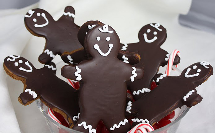Chocolate Covered Gingerbread