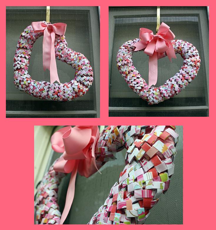 Gum Wrapper Wreath
