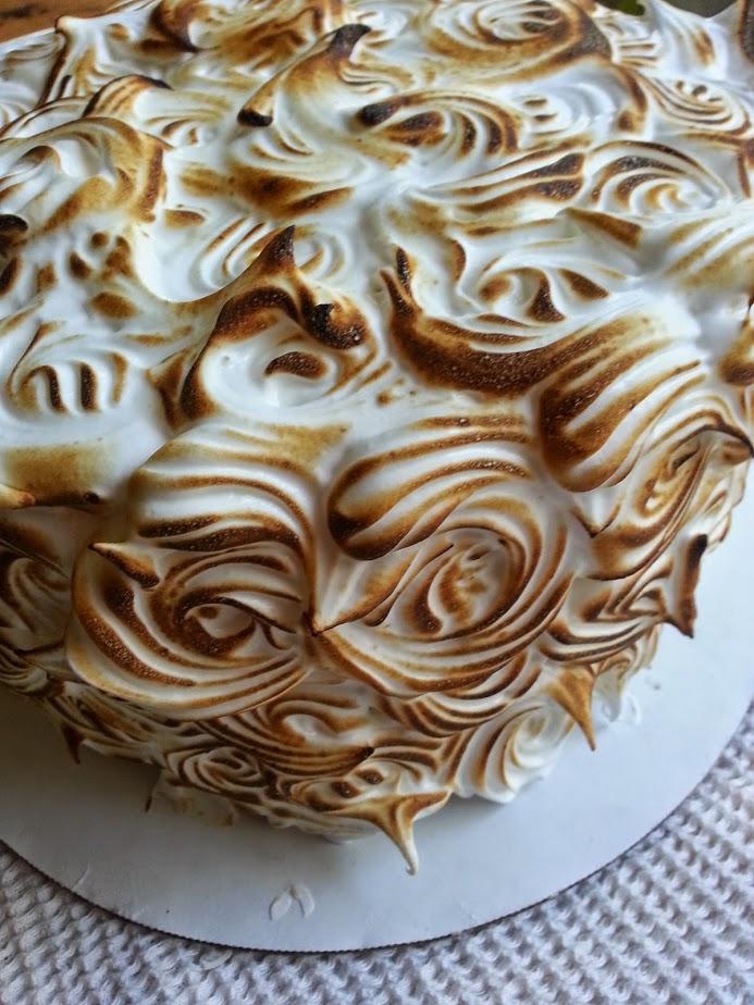 Ten Layer Lemon Meringue Cake