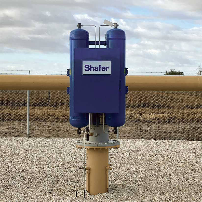 Shafer Actuator Installed in the Field