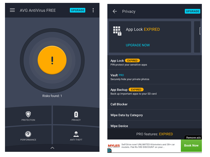 AVG AntiVirus Security Mobile