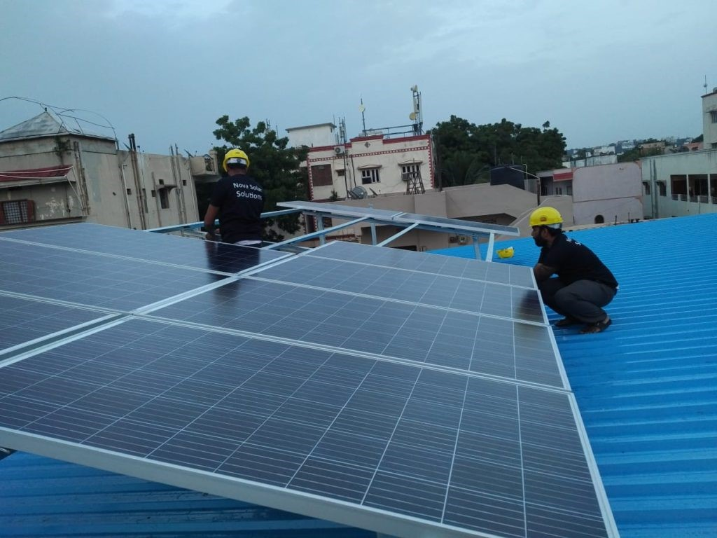 Proud Owner of 4 Kw System at Karkhana
