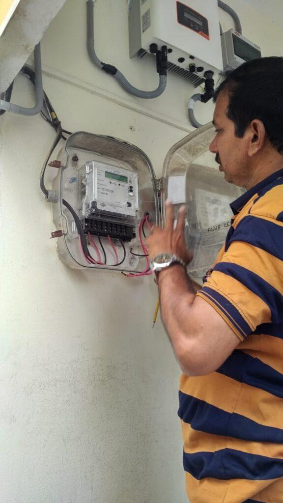Netmeter installation