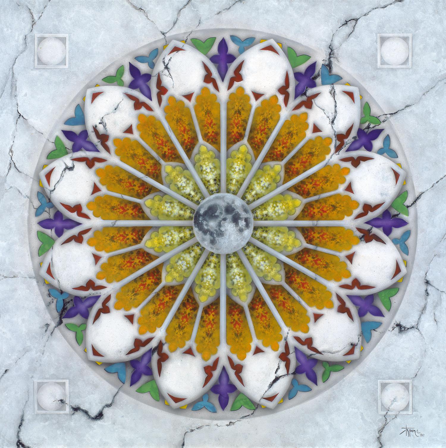 Le Grand Mystére – 24×24 Canvas Giclée Framed