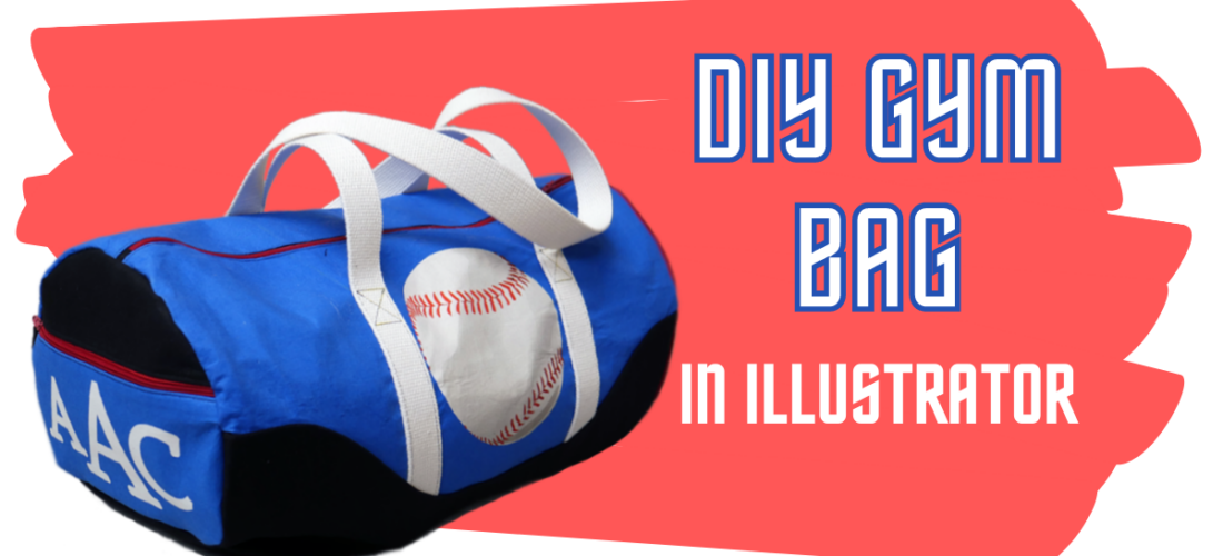 Back To School Gym Bag – Creating Fabric In Illustrator