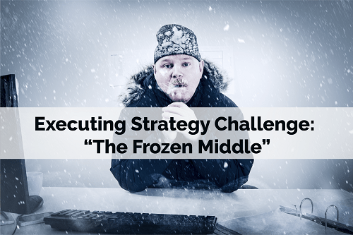 """Executing Strategy Challenge: """"The Frozen Middle"""""""