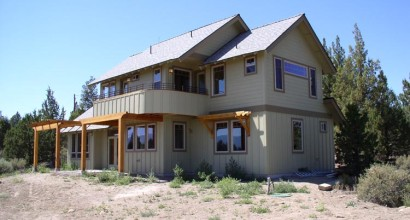 High Desert Craftsman Exterior