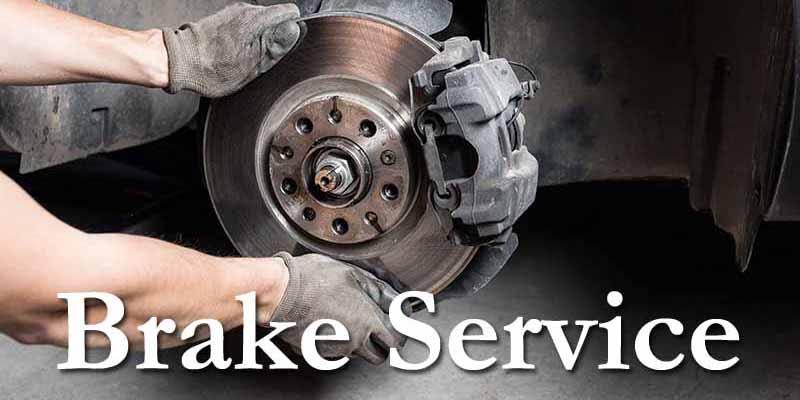 Brake service 8x4
